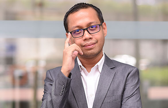 Encik Hazwan (Marketing Director) of Cala Qisya